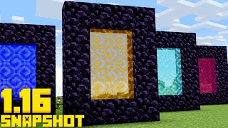 NEW Infinite Dimensions! APRIL FOOLS Update Minecraft 1.16 Snapshot 20w14infinite