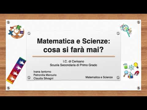 OPENDAY MATEMATICA E SCIENZE