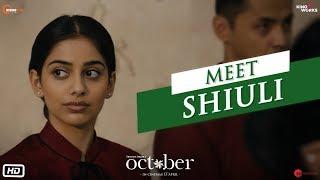 October   Meet Shiuli   Varun Dhawan   Banita Sandhu   Shoojit Sircar