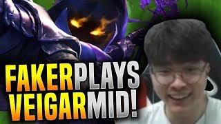 FAKER Insane VEIGAR Game vs PPAPDO! - SKT T1 Faker Plays Veigar Mid! | SKT T1 Replays