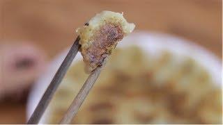 Crispy yummy mini pan-fried dumplings from scratch, nobody can resist!