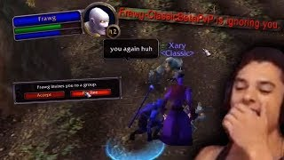 Xaryu meets a TOXIC player in classic beta AND TROLLS HIM (part 2)