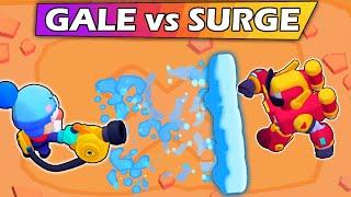 SURGE vs GALE | El mejor Cromático | 1vs1 | Brawl Stars