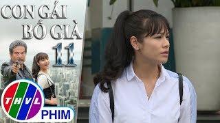 THVL | Con gái bố già - Tập 11[3]: Kim Cương trốn lên xe để được đi dã ngoại với bạn