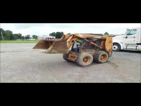 2006 Case 440 skid steer for sale | no-reserve Internet auction September 21, 2016