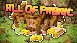 All of Fabric 3 Minecraft Modpack Ep. 1 Just A Starter House