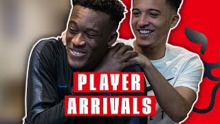 Warm Welcome for Hudson-Odoi & Rice as England Squad Reunites!   Player Arrivals   Inside Access