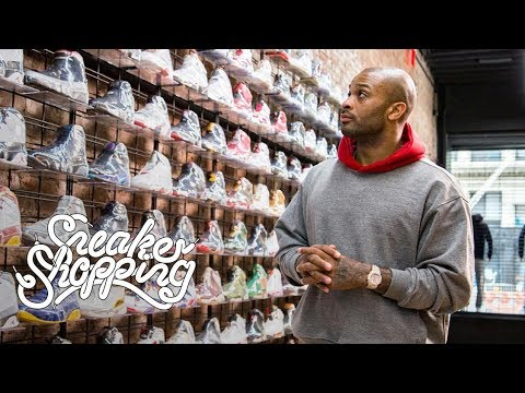 P.J. Tucker Goes Sneaker Shopping With Complex