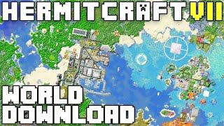 Hermitcraft VII Season Seven World Download For Java & Bedrock
