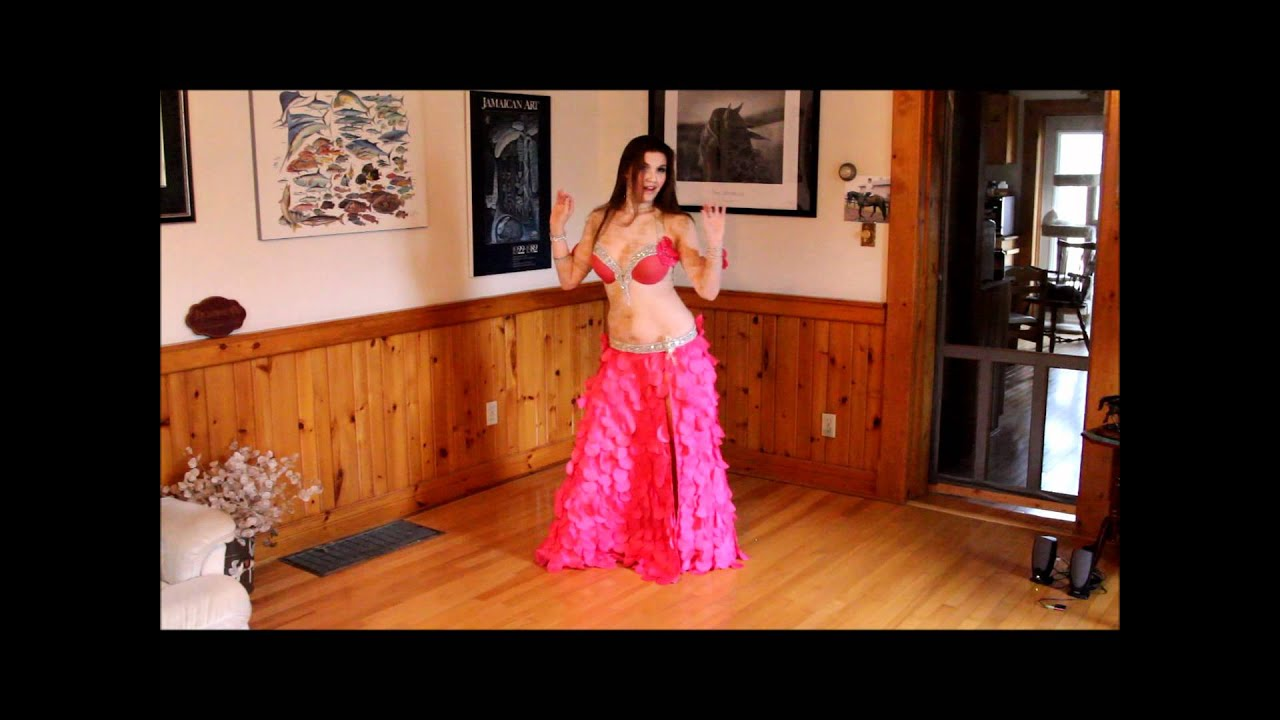 Belly Dance at home by Cassandra Fox - Drum Solo - YouTube