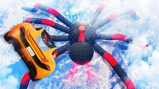 DESTROYING THE WORLD'S LARGEST SPIDER! (GTA 5 Races)