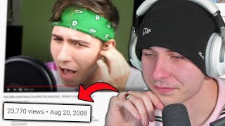 reacting to my old videos (and crying lol)