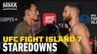 UFC Fight Island 7 Weigh-In Staredowns - MMA Fighting