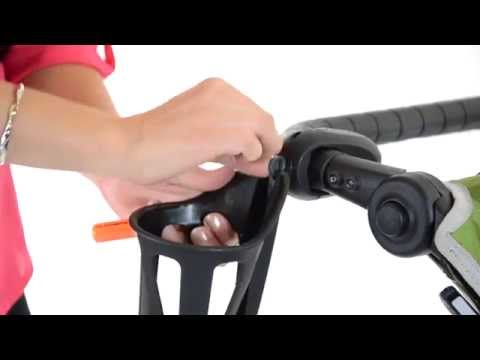 How to install a Liquid Holster from Baby Jogger