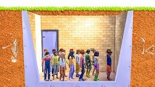 i made 100 kids spend 50 years underground