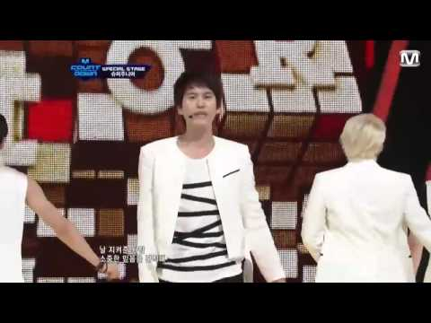 Super Junior - Sexy, Free & Single + SPY @ M! Countdown (November ‎02, ‎2012)