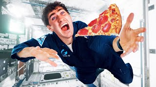 I Ate A Slice Of Pizza In Space!