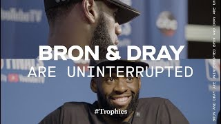 LeBron James and Draymond Green Face Off in NBA Finals | TROPHIES