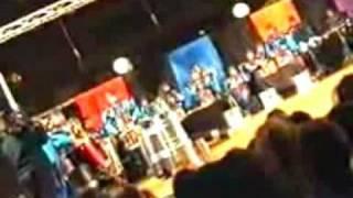Tamborada de la comparsa Caribe de 2004