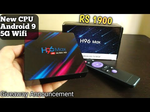 video H96 Max 3318 TV Box