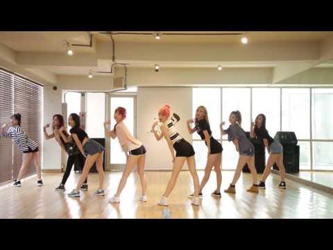 9MUSES A (나인뮤지스A) - 입술에 입술 (Lip 2 Lip) Dance Practice (Mirrored)