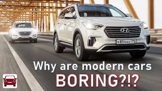 Why are modern cars so BORING?!?