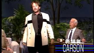 Robin Williams' Hilarious Shakespeare Improvisation, Johnny Carson's Tonight Show