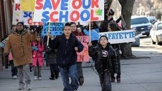 The largest school closings in US history is happening in Chicago
