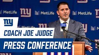 Giants Head Coach Joe Judge Introductory Press Conference   New York Giants