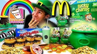 THE SAINT PATRICKS DAY SWEET FEAST! (13,000+ CALORIES)
