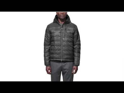 Canada Goose Lodge Hoody Mens Jacket in Graphite