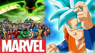 How Strong Is God Goku Compared To Marvel?