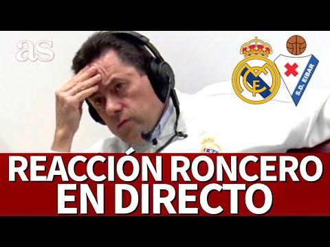 REAL MADRID - EIBAR   En DIRECTO, la REACCIÓN de RONCERO   Diario AS