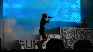 Baby's On Fire - Die Antwoord live at Beach Goth