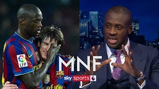 Yaya Toure picks incredibly attacking Ultimate XI of players he has played with! | MNF