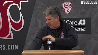 Mike Leach Press Conference 9/11