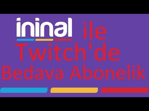 İninal Kart İle Twitch'de Bedava Abone Olmak | Twitch Prime Alma