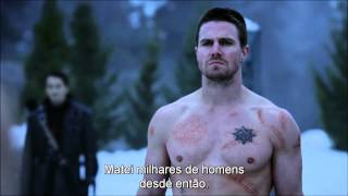 Ra's Al Ghul x Arrow(Death of Oliver Queen) - Best fight Scene.