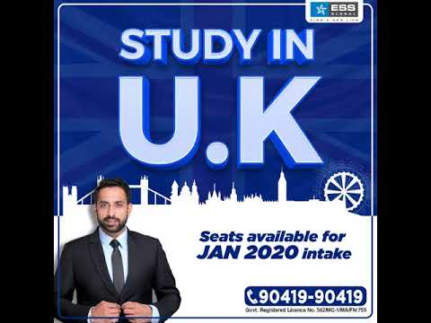 Study In The U.K - Pay All The Fees After Visa