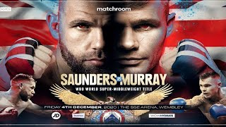 🥊Billy Joe Saunders vs Martin Murray Live Fight Chat No Video MOS Commentary