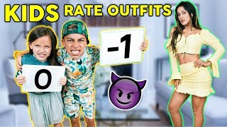 KIDS REACT To PARENT'S OUTFITS! *Bad Idea* | The Royalty Family