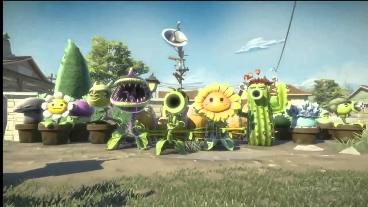 Plants vs. Zombies: Garden Warfare Teaser Trailer - E3 ...