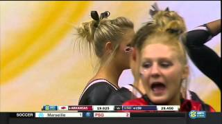 2016 NCAA WGym LSU vs Arkansas 720p60 NastiaFan101