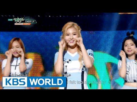 TWICE (트와이스) - Cheer Up [Music Bank HOT Stage / 2016.05.13]
