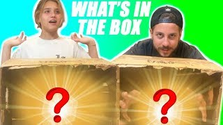 WHAT'S IN THE BOX CHALLENGE!!! - FEAR BOX