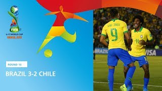 Brazil v Chile Highlights - FIFA U17 World Cup 2019 ™