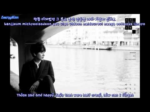 Kyuhyun - Way to Say Goodbye (안녕의 방식) [English subs + Romanization + Hangul]