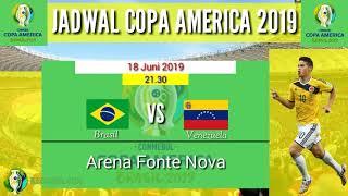 Lịch thi đấu Copa America 2019 mới nhất và đầy đủ nhất