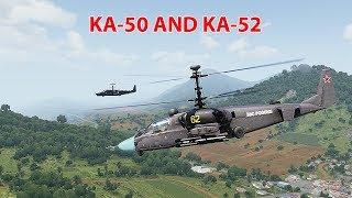 Trực thăng chiến đấu Ka-50 và Ka-52 - Quái thú biết bay