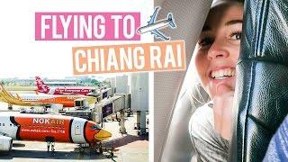 Flying to Chiang Rai